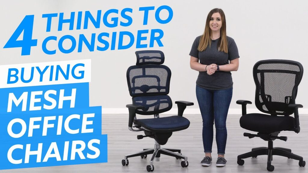 4 Things You Must Consider Before Buying a Mesh Office Chair