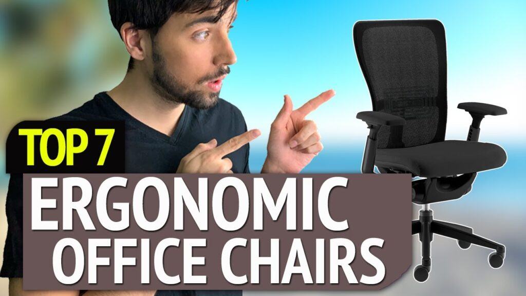 BEST ERGONOMIC OFFICE CHAIRS! (2020)
