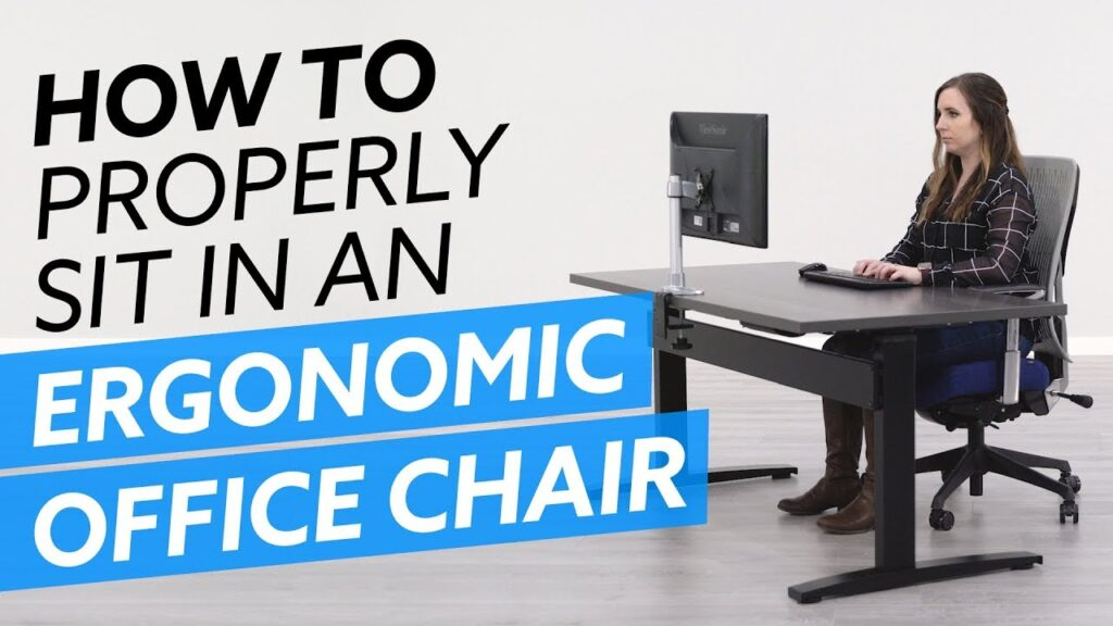 How-To Properly Sit In An Ergonomic Office Chair