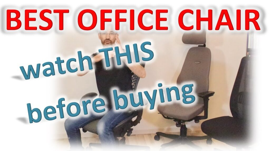 You deserve the BEST ergonomic office chair – here is exclusive expert advice on how to choose